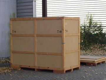 Opslag/Bewaarneming inboedel in een kist van 6 m3